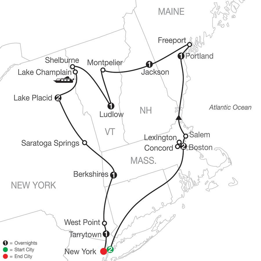 AEQ 2021 Map