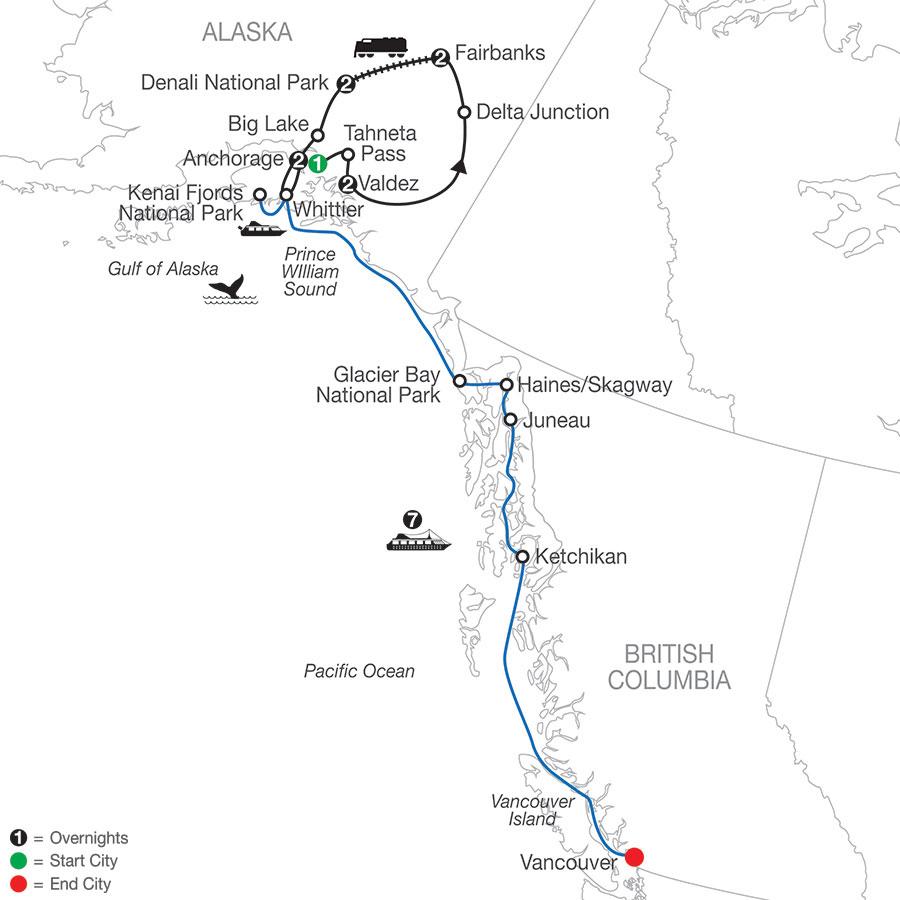 AJI 2021 Map