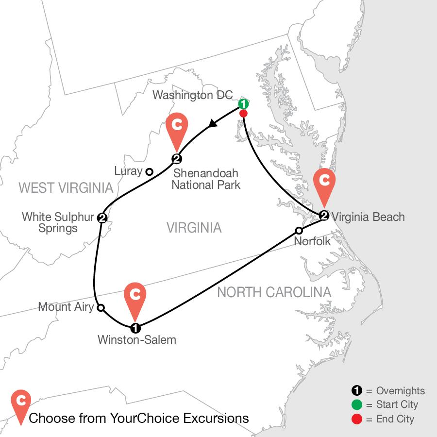 F8C 2021 Map