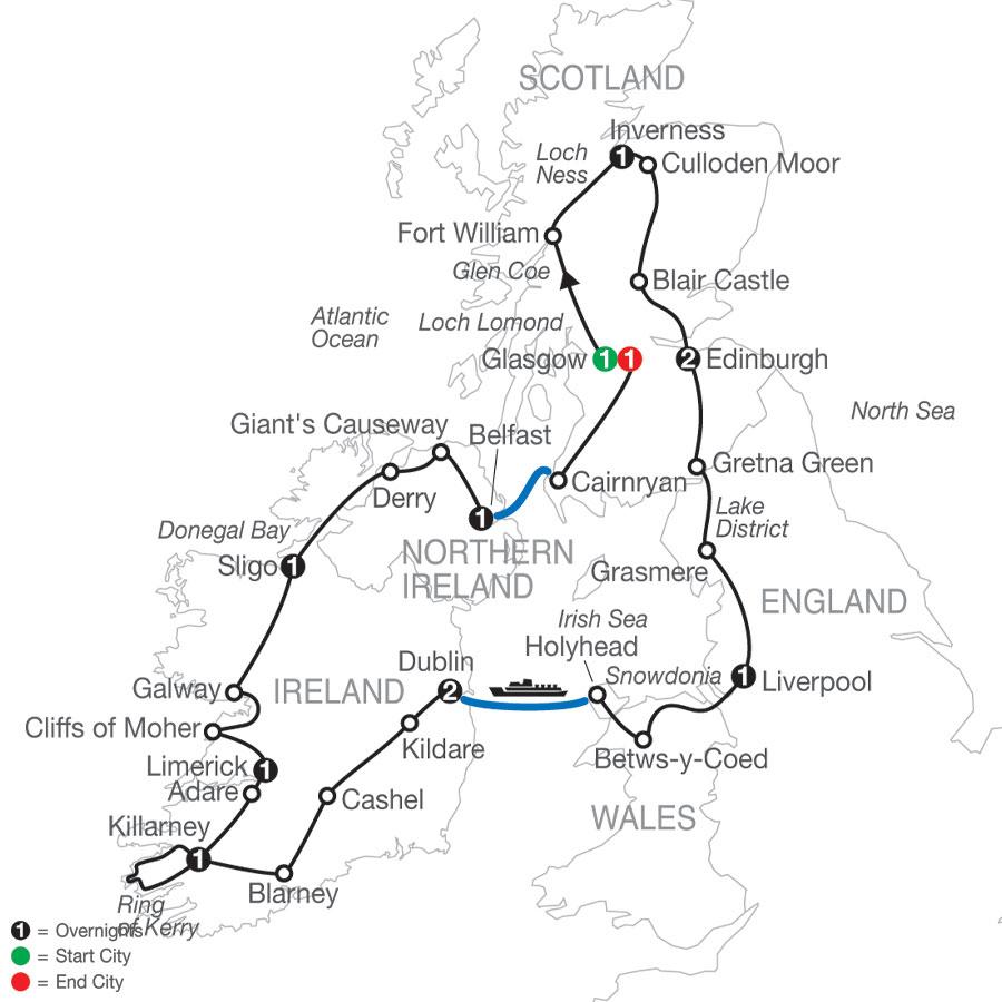 GD 2021 Map