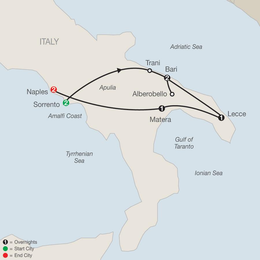 KIN 2021 Map