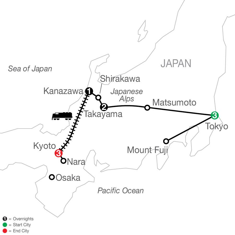 OJ 2021 Map