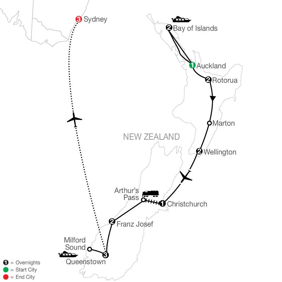 PNE 2021 Map