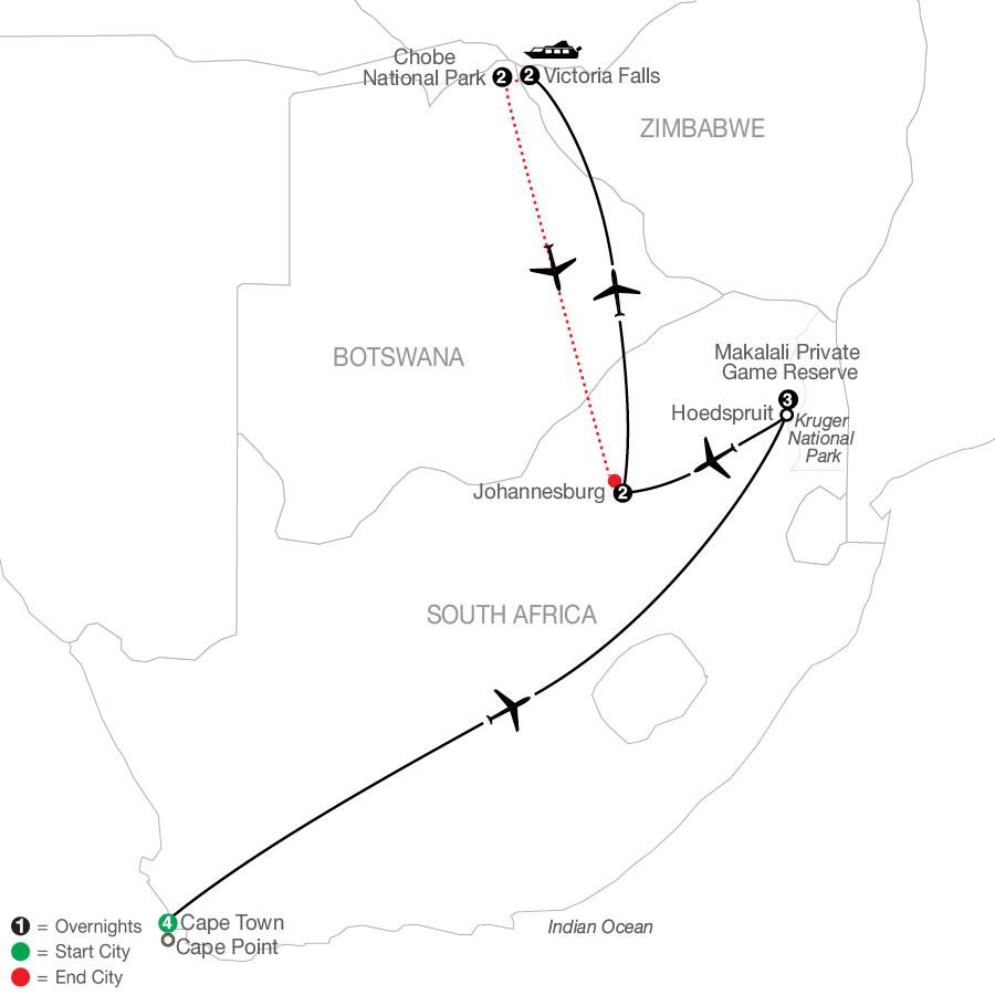 QSE1 2021 Map