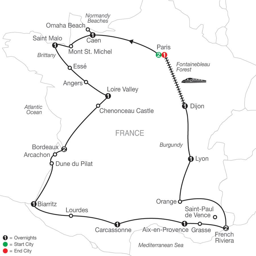 RA 2021 Map