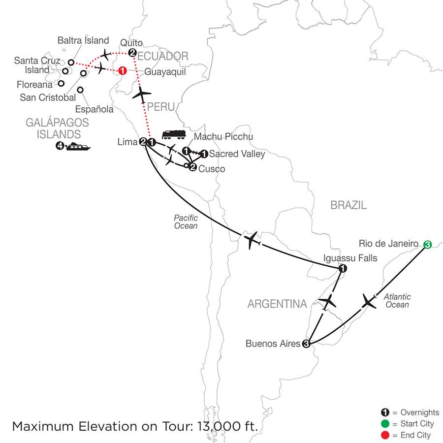 SAE 2021 Map