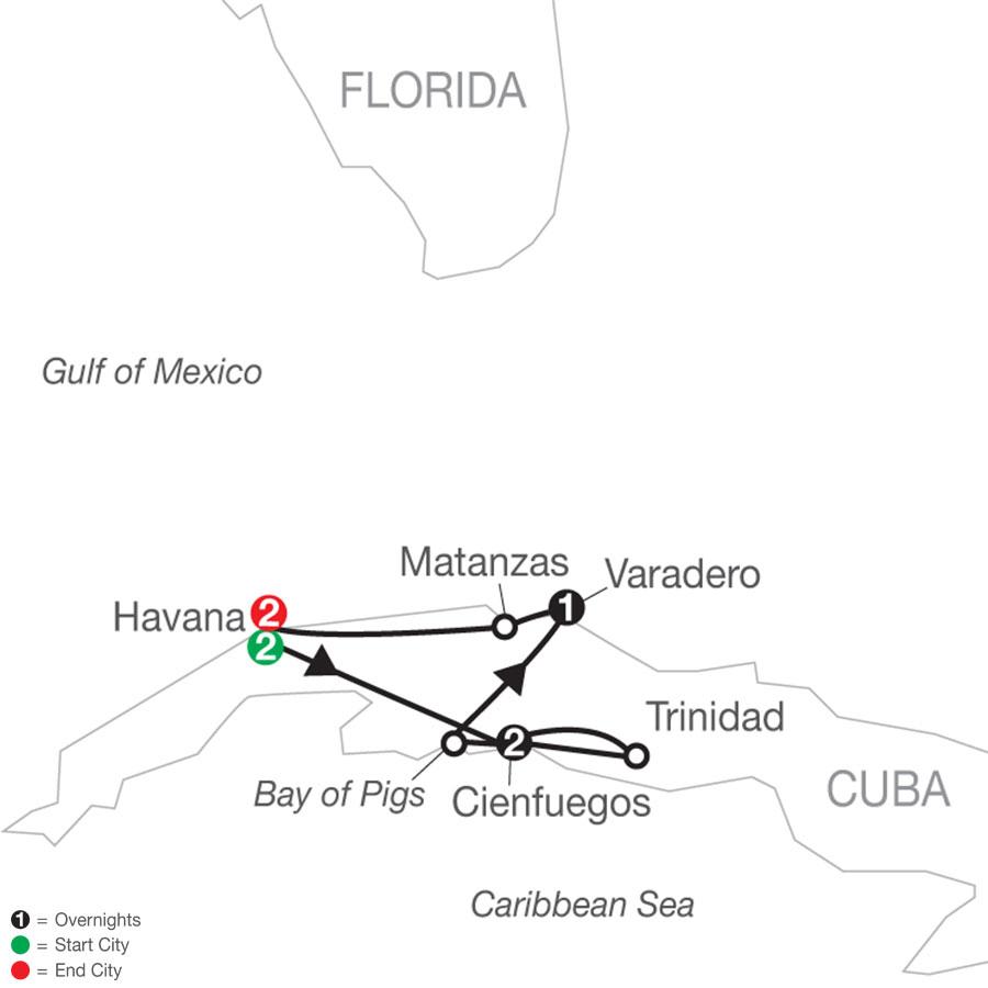YV 2021 Map