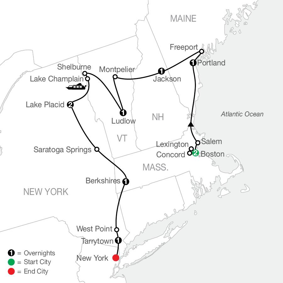AE 2022 Map
