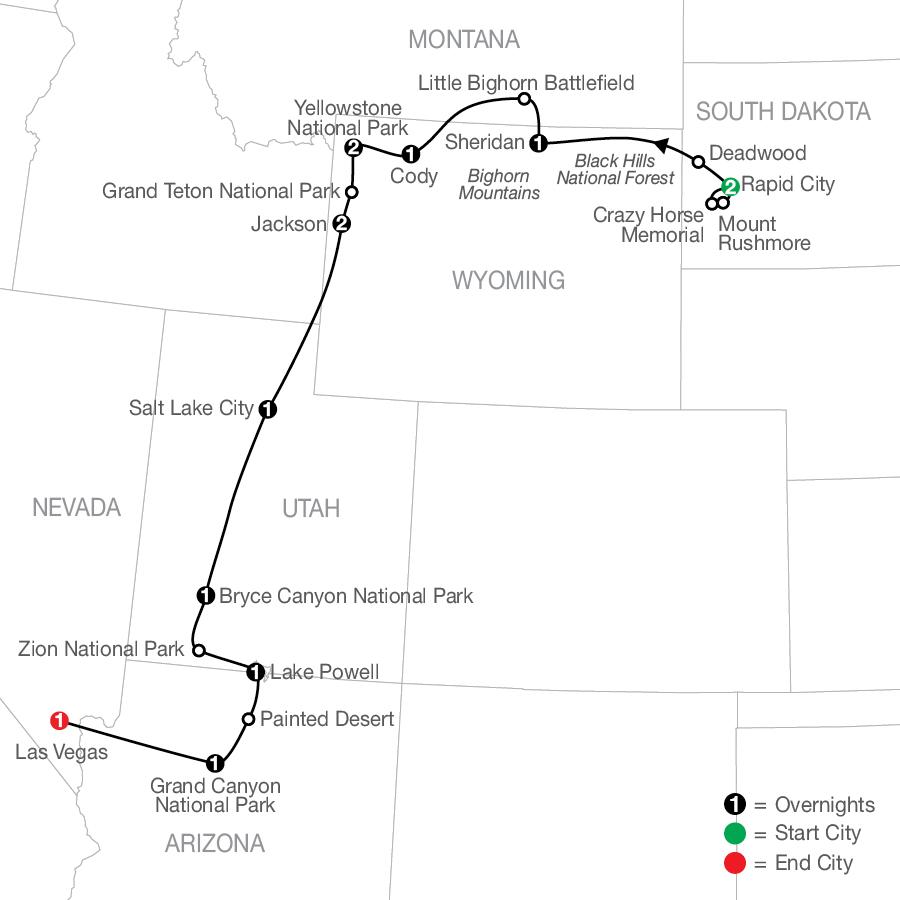 AP 2022 Map