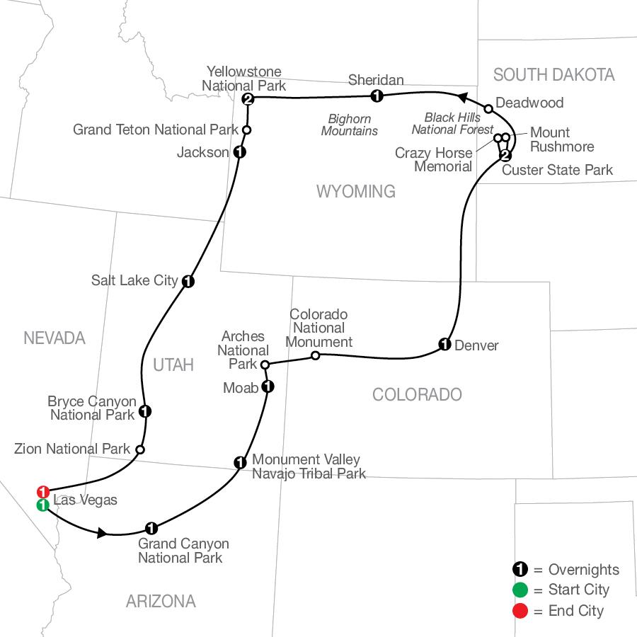 AR 2022 Map