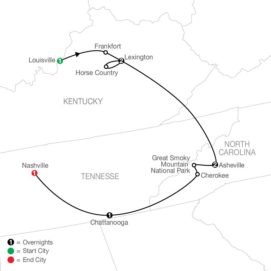 AT 2022 Map