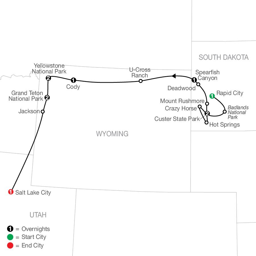 AY 2022 Map