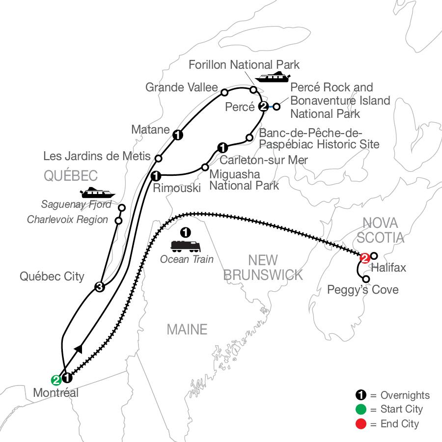 CQE 2022 Map