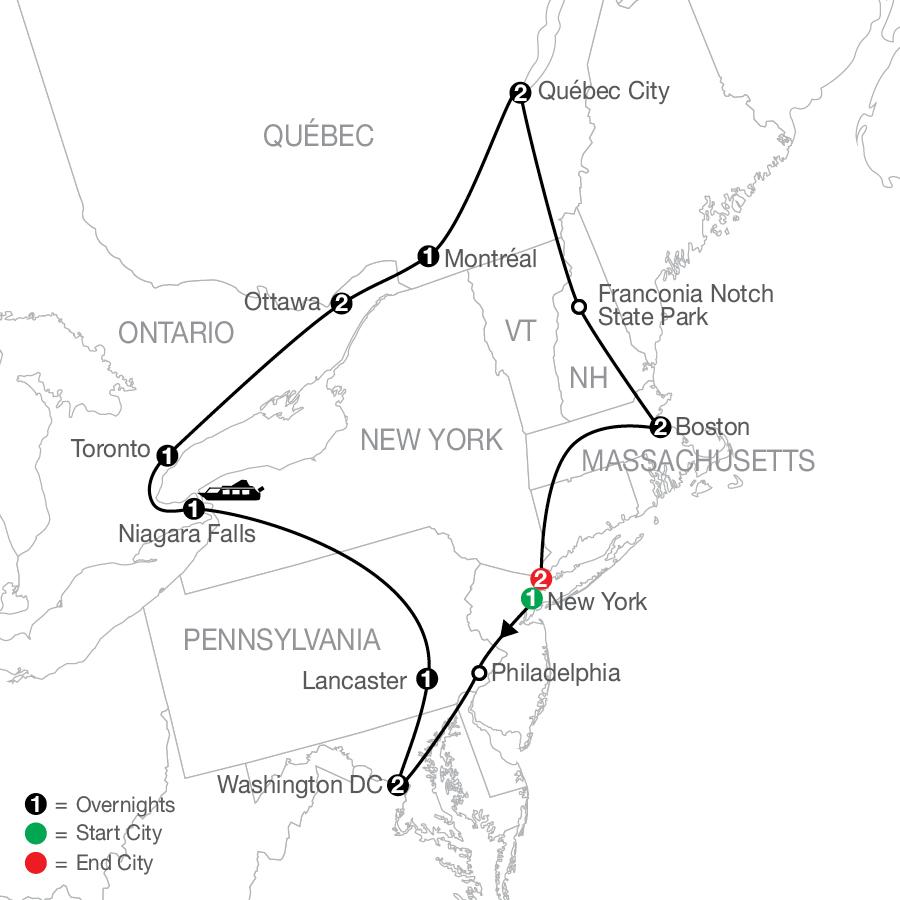 CUE 2022 Map