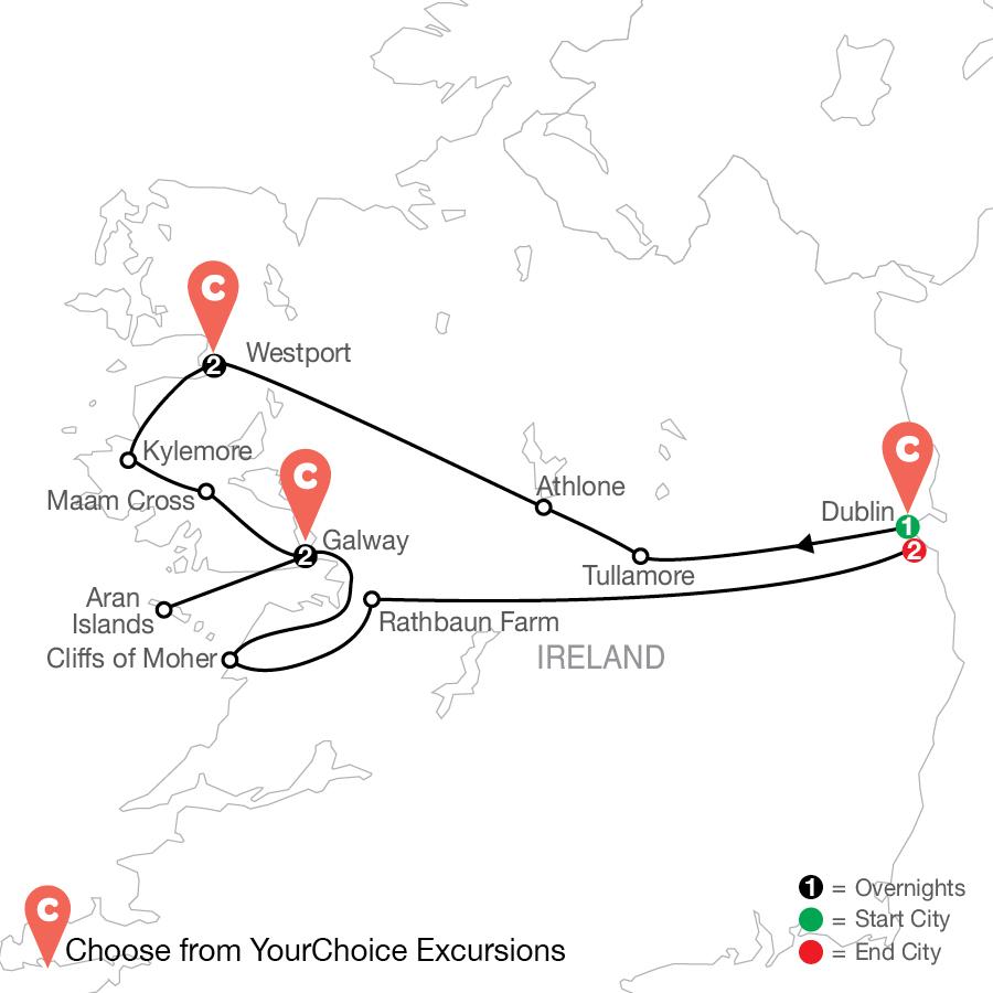 FE 2022 Map