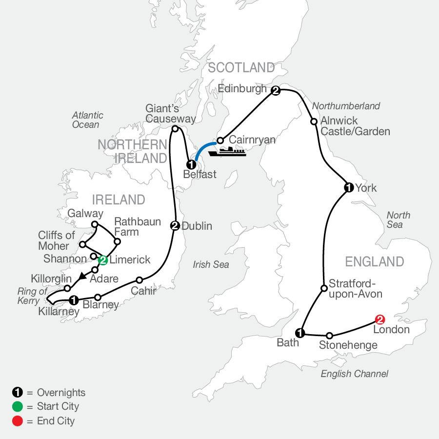 GU 2022 Map