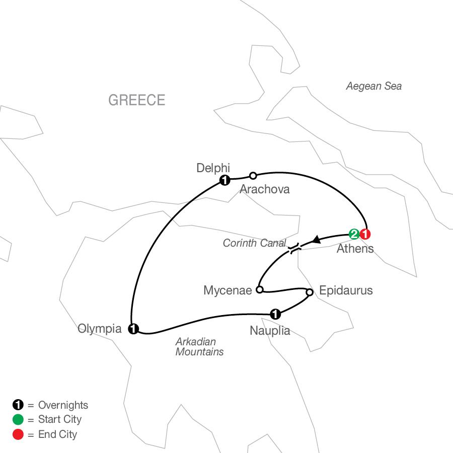KGA 2022 Map
