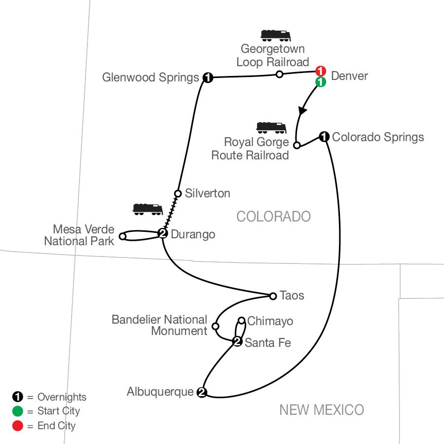 NCS 2022 Map
