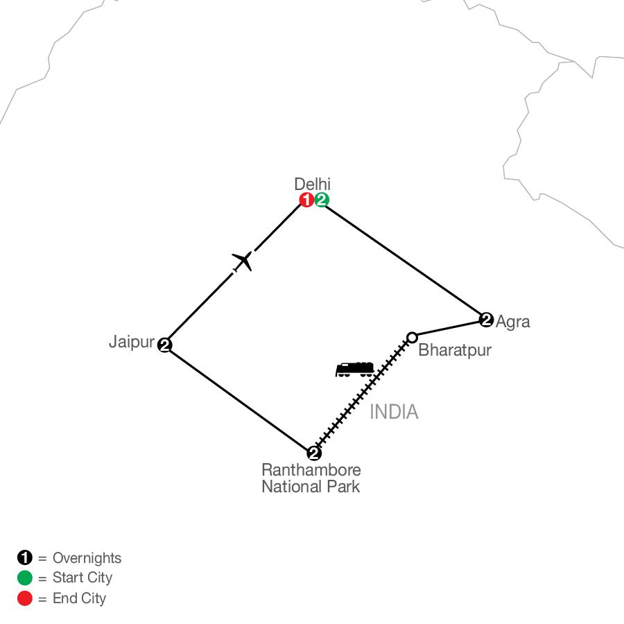 OD 2022 Map
