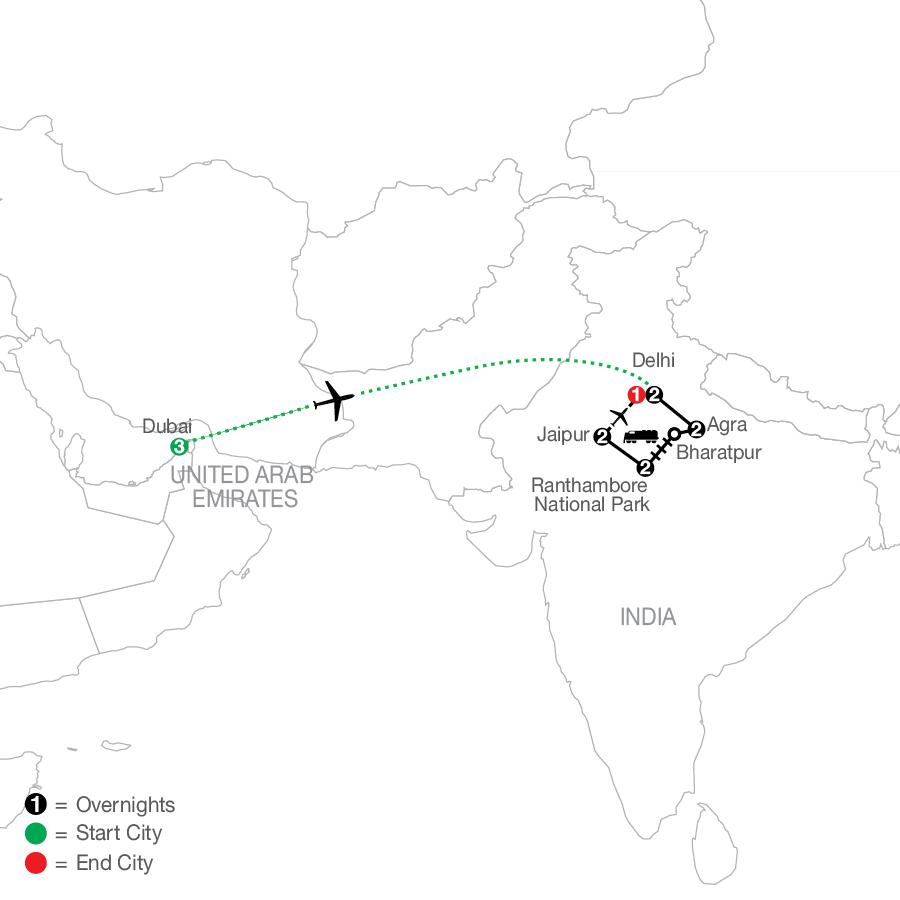 ODQ 2022 Map
