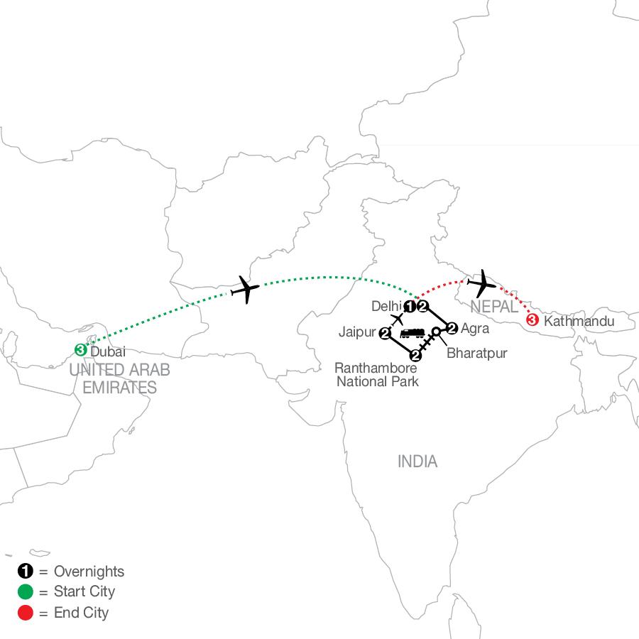 ODY4 2022 Map