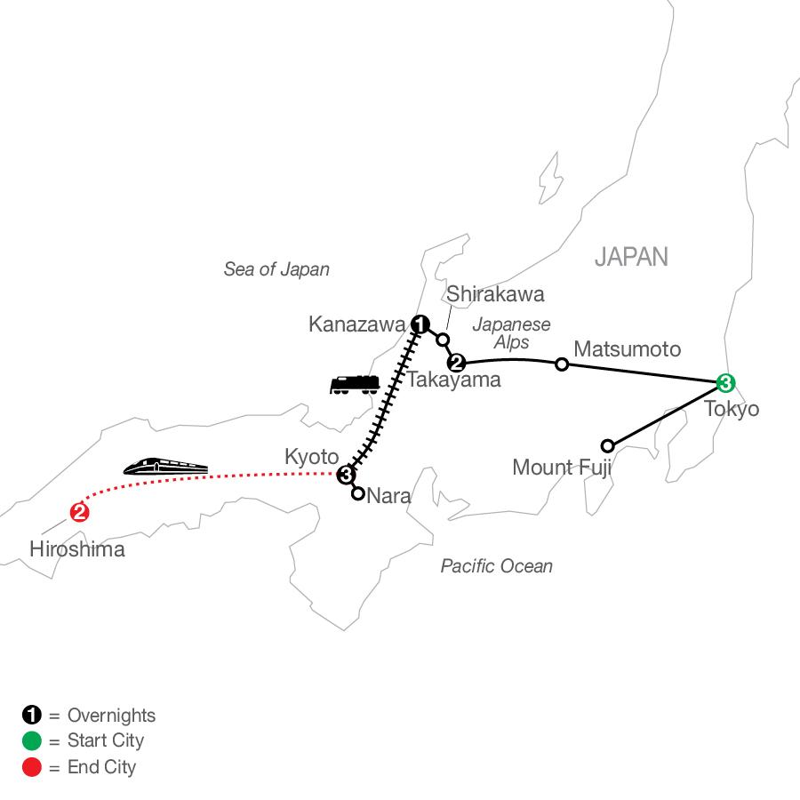 OJE 2022 Map