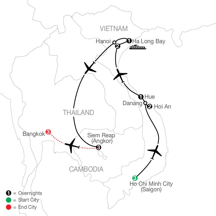 OVE3 2022 Map