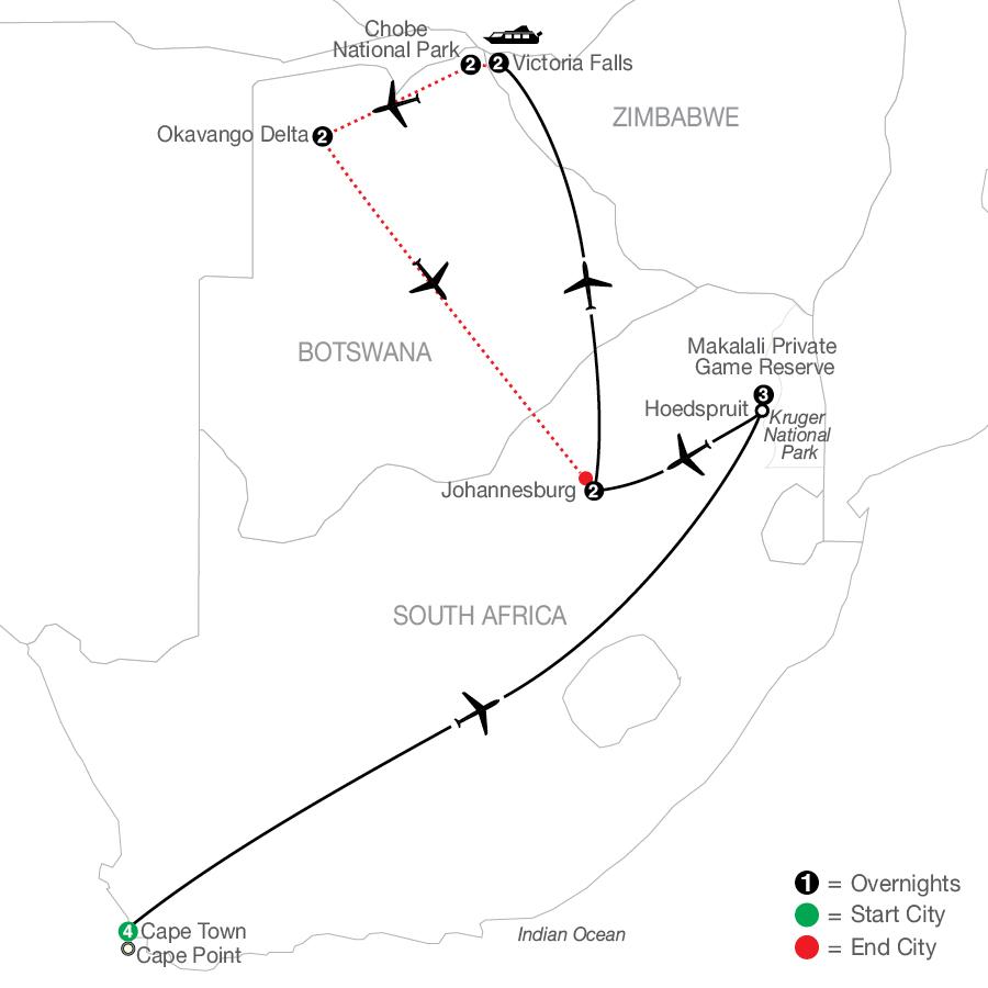 QSE 2022 Map