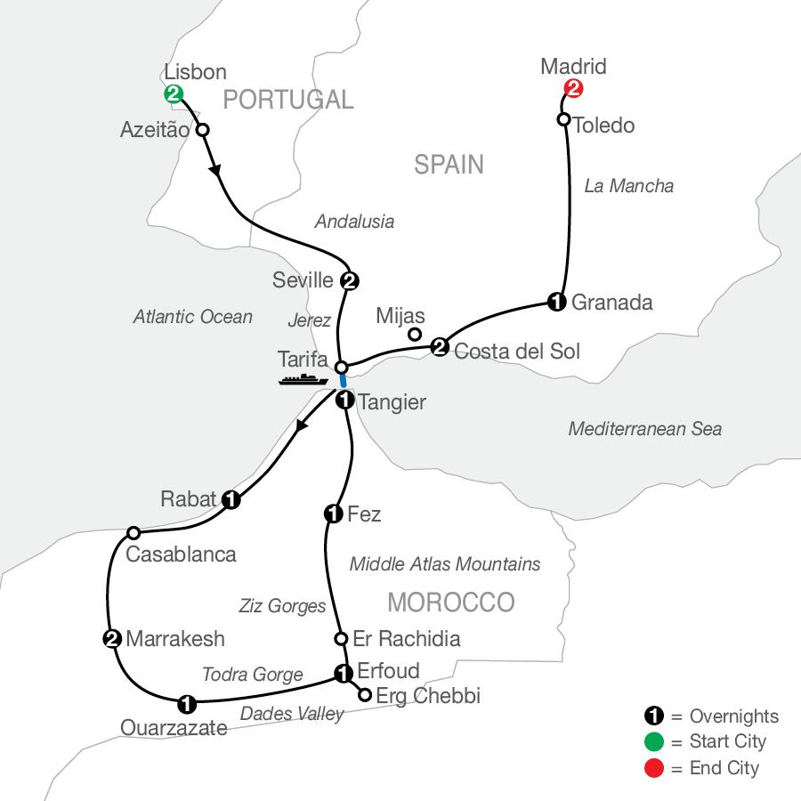 ZU 2022 Map