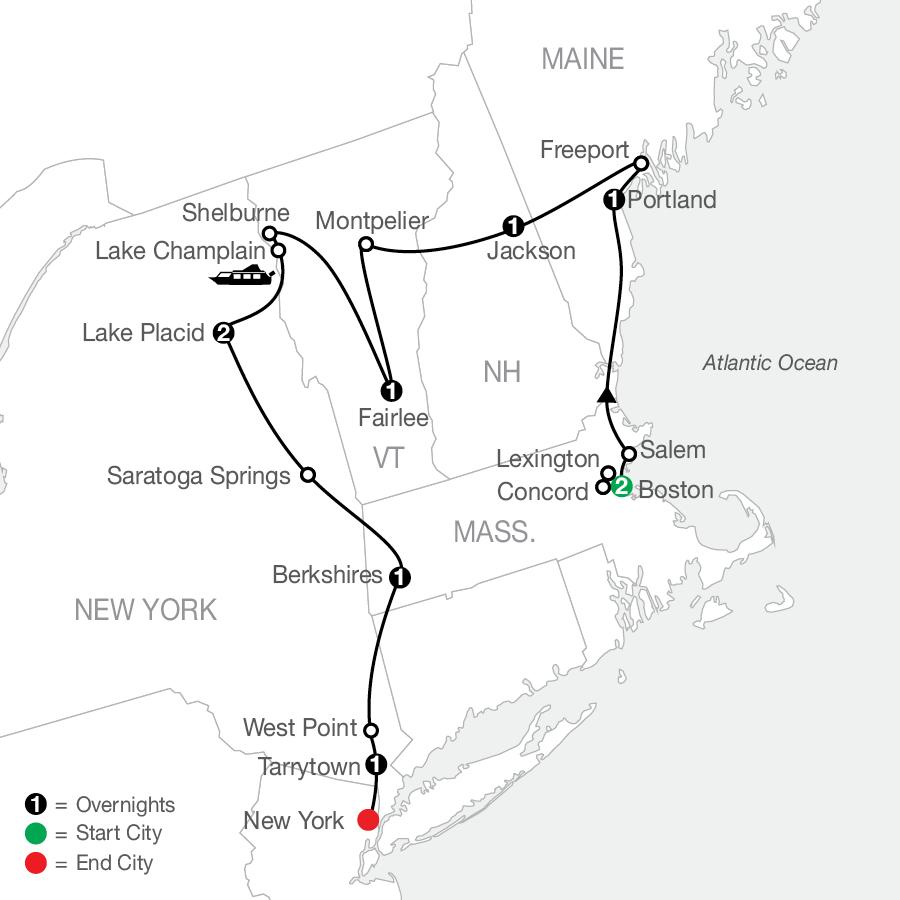AE 2023 Map