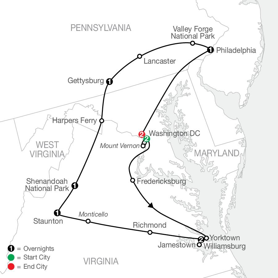 AHE 2023 Map