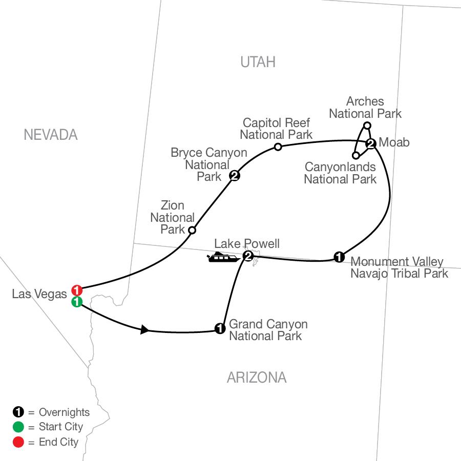 AM 2023 Map