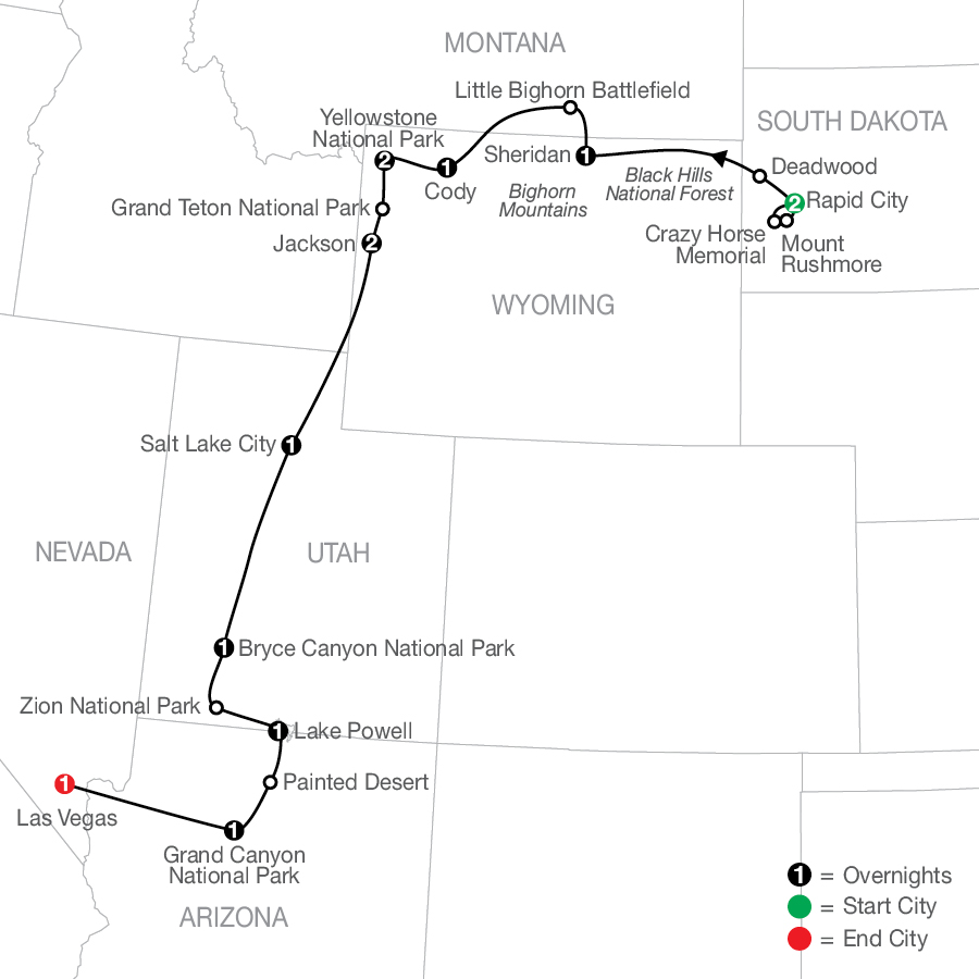 AP 2023 Map