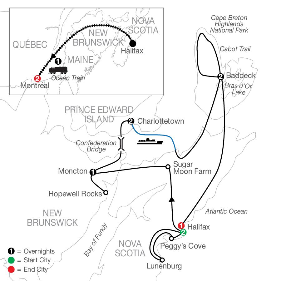 CHE 2023 Map