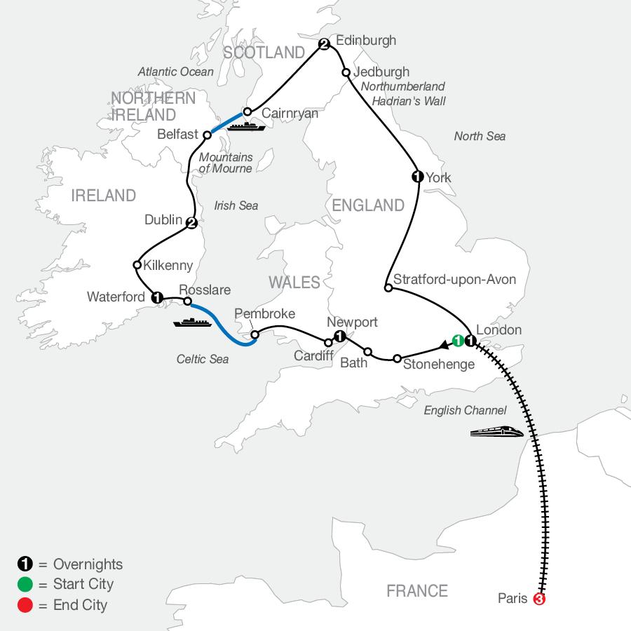 GBE 2023 Map