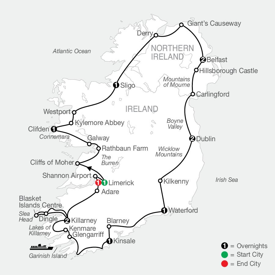 GI 2023 Map