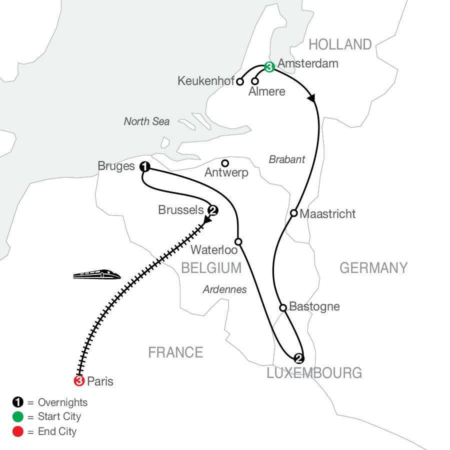 HWE 2023 Map