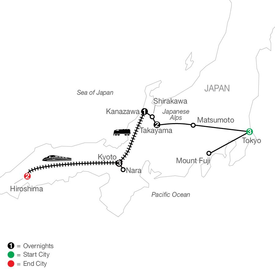 OJE 2023 Map