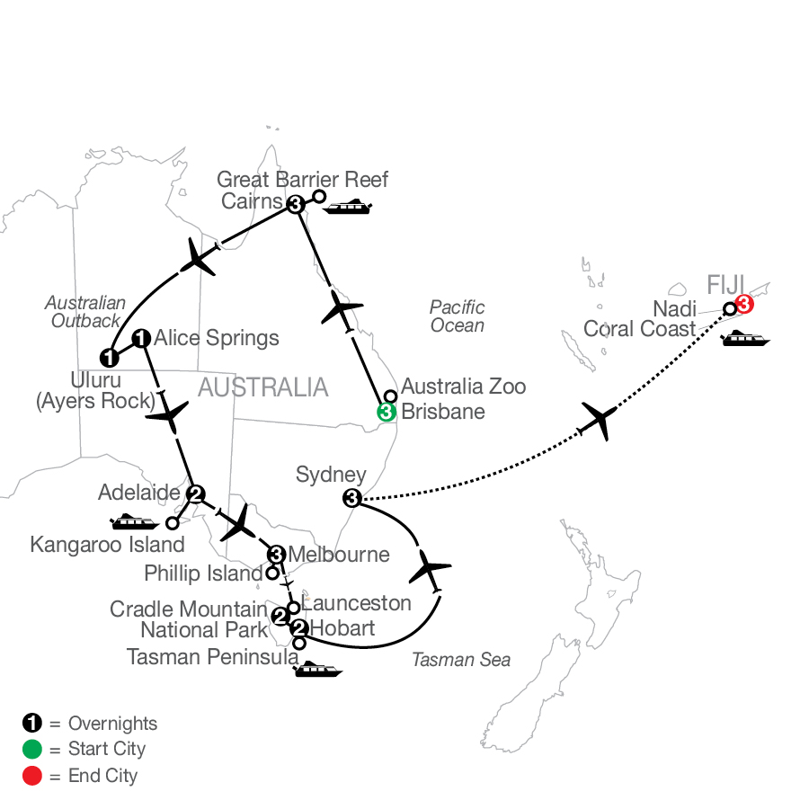 PLE 2023 Map
