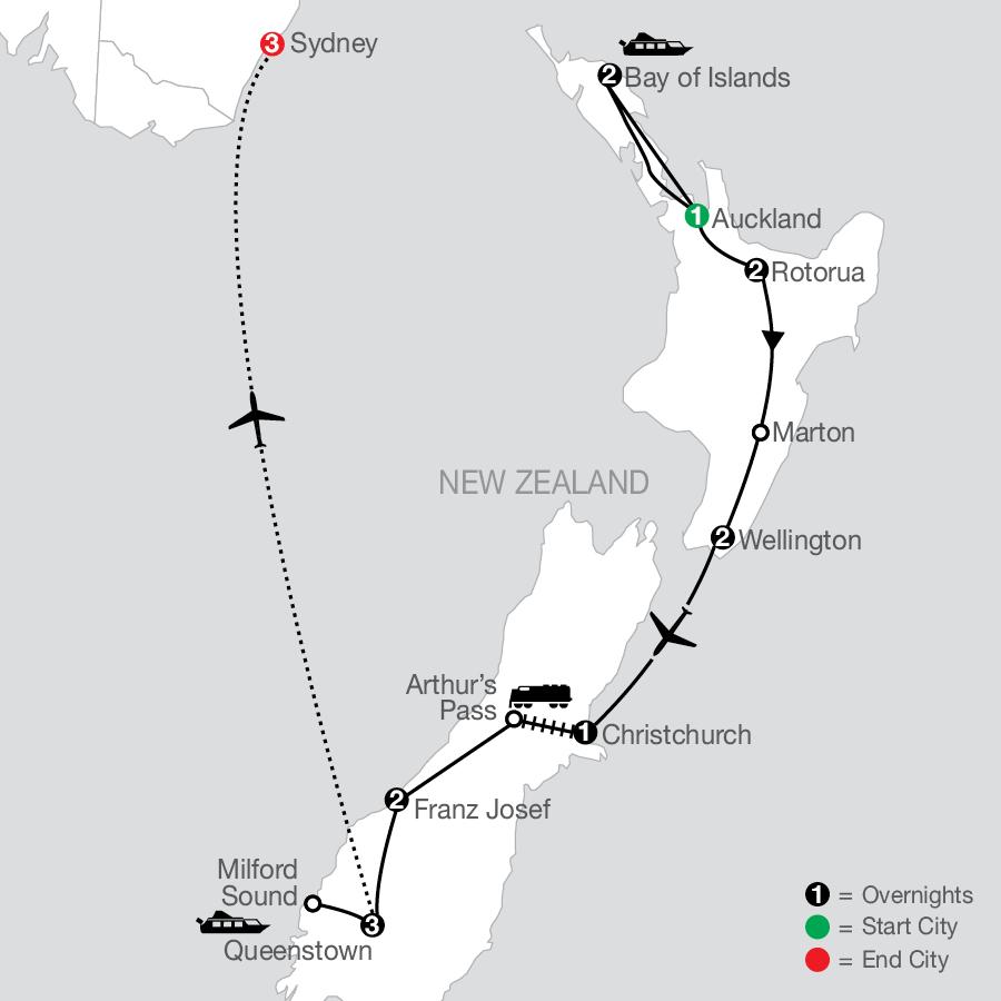 PNE 2023 Map