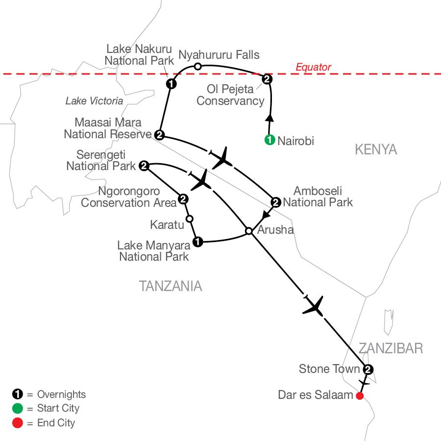 QBE 2023 Map