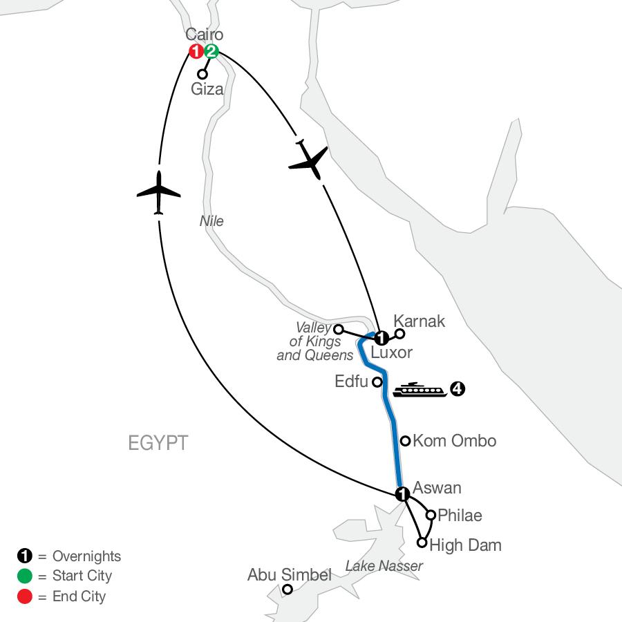 QF 2023 Map