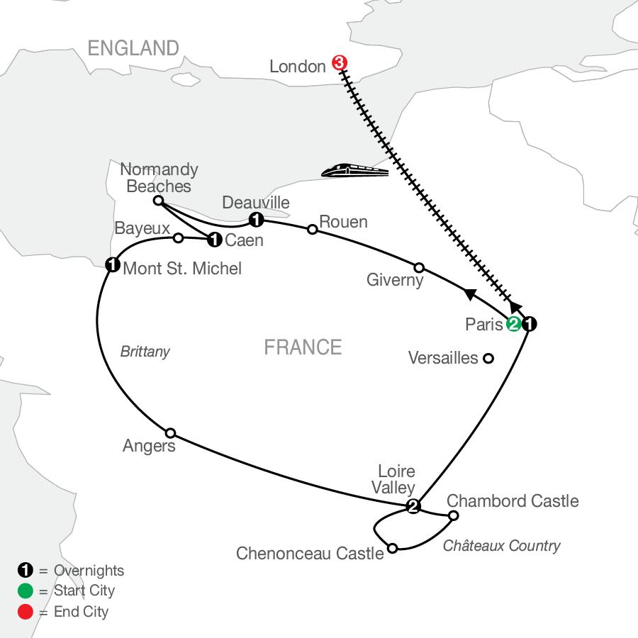 RCE 2023 Map