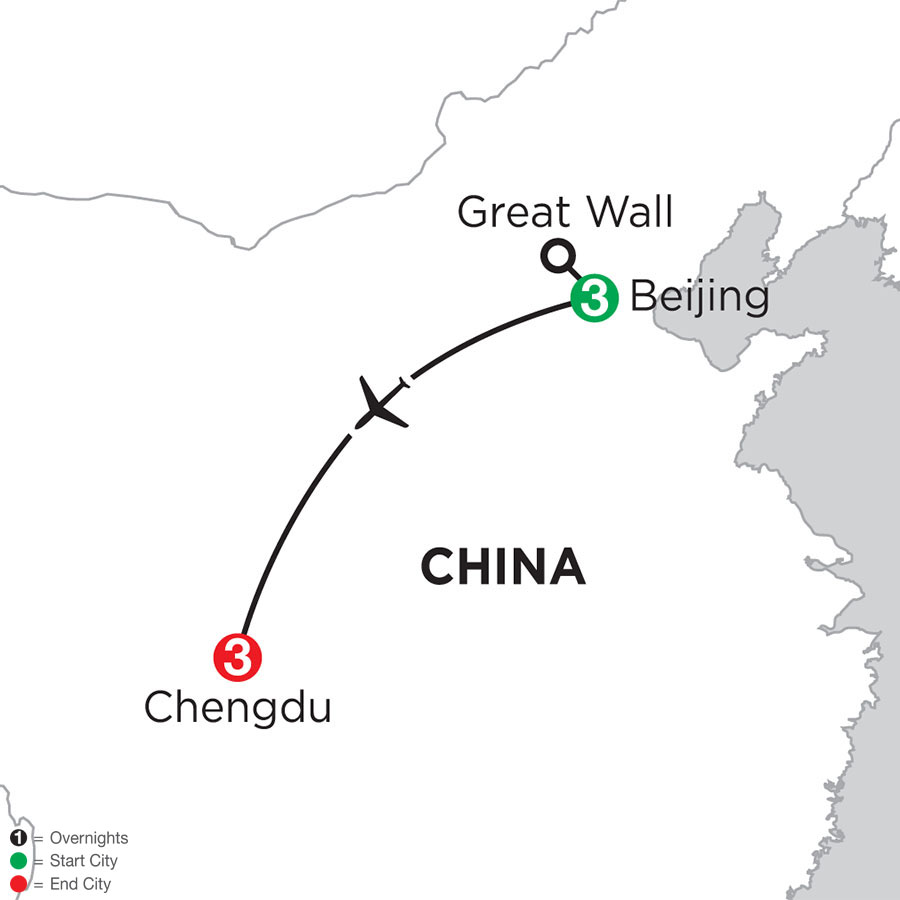 Beijing & Chengdu