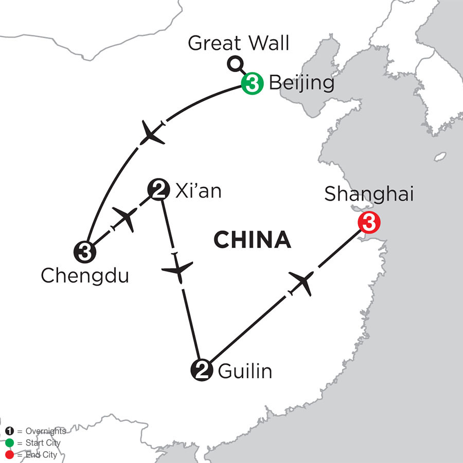 Essential China with Chengdu & Guilin