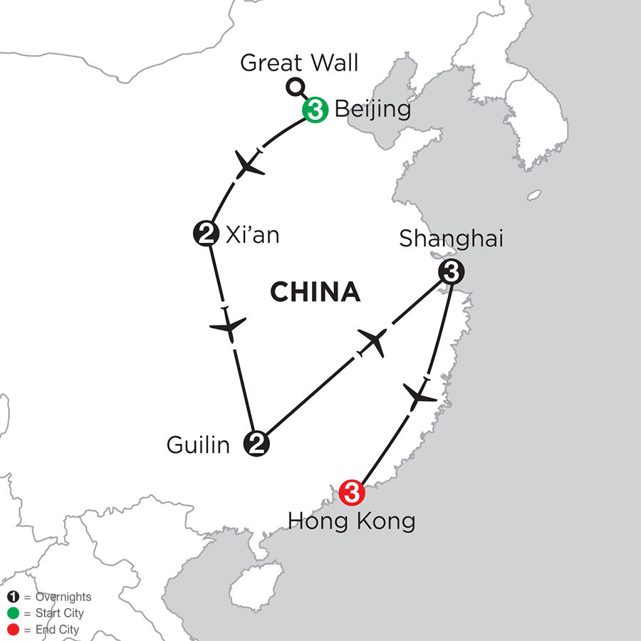Essential China with Guilin & Hong Kong