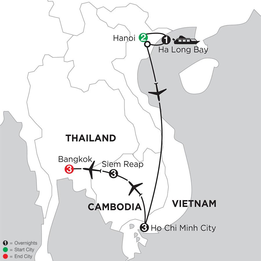 IAH Map