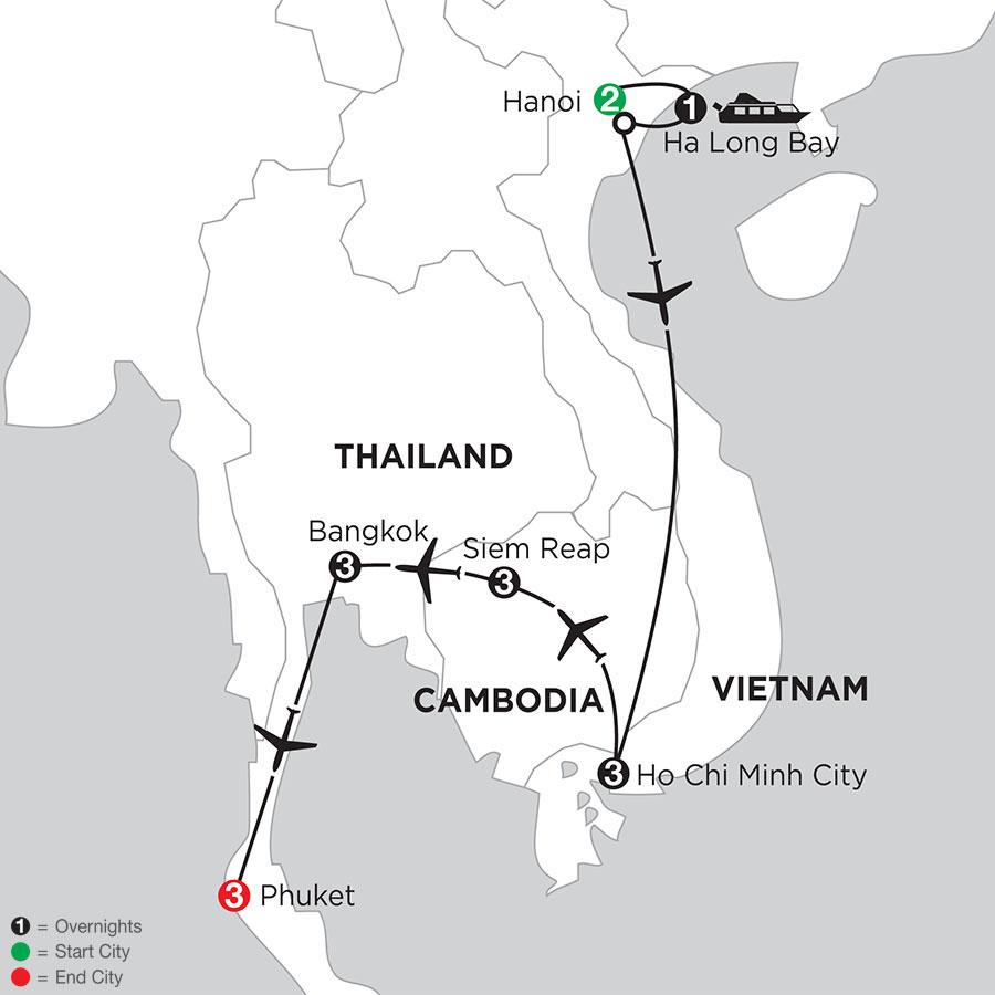 IAHE Map