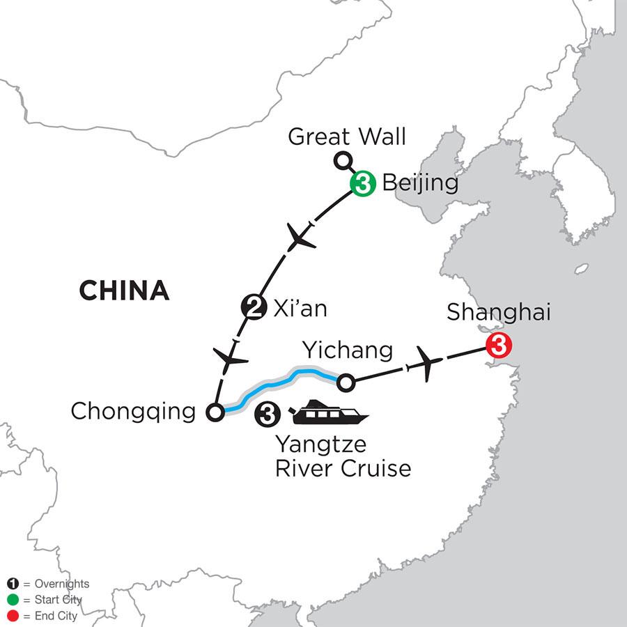 Heart of China & The Yangtze