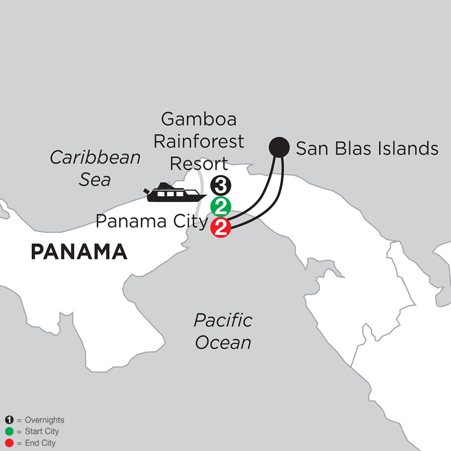 Best of Panama with San Blas Islands